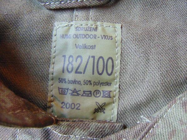 Pracovní komplet AČR vzor 92 – blůza a kalhoty
