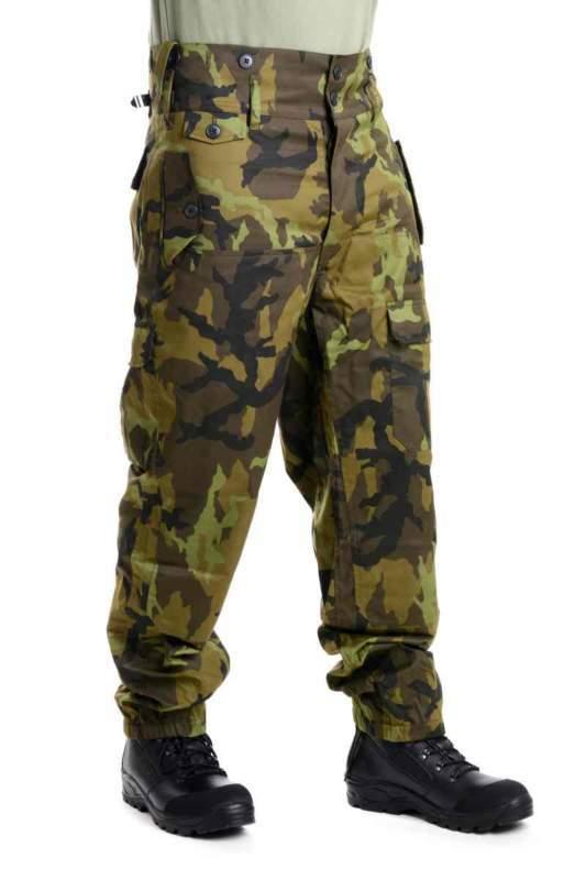 Kalhoty v maskovacím provedení CELOROČNÍ - atypické velikosti