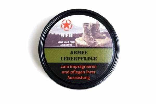 Krém na boty černý ARMY MFH 150 ml plechovka
