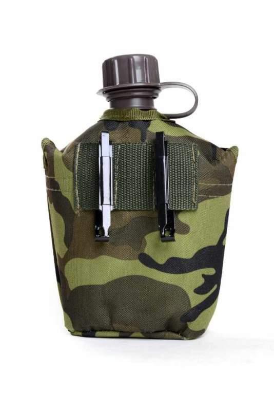 Plastová polní láhev MFH 1litr, ve vzoru AČR VZOR 95 CZ