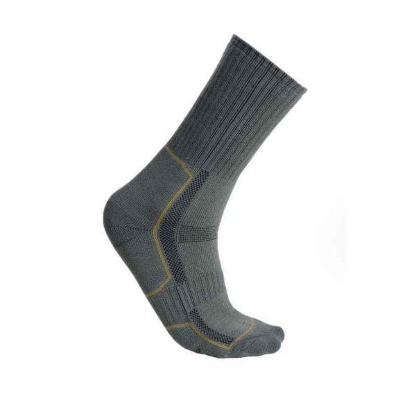 Ponožky vzor 2000 zelená, hnědá
