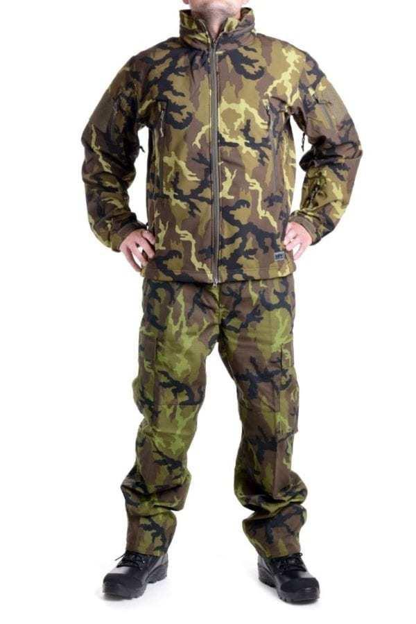 Softshellová bunda MFH Scorpion ve vzoru AČR VZOR 95 CZ