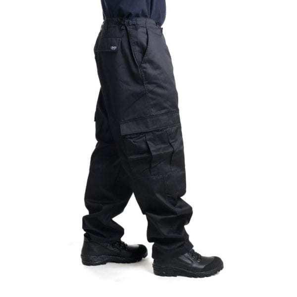 Kalhoty černé US střih BDU SECURITY MFH Max Fuchs AG