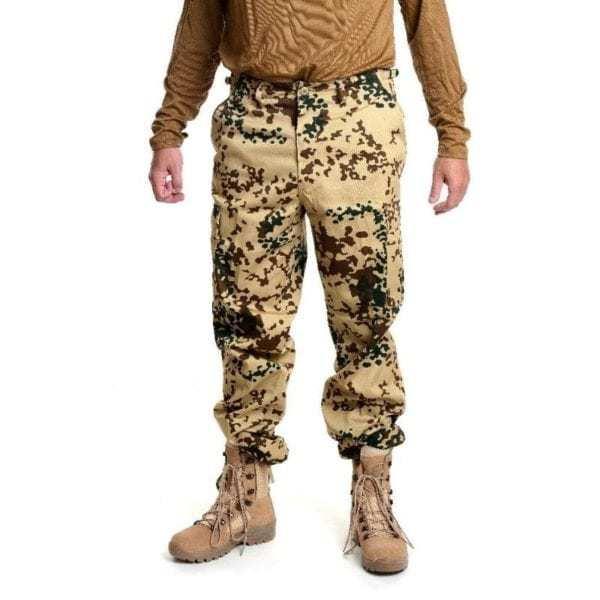 Kalhoty bojové US střih BDU BW TROPENTARN MAX FUCHS AG MFH
