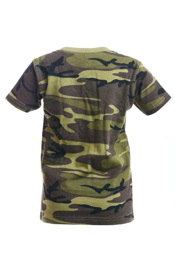 Maskáčové tričko dětské MILITARY CAMOUFLAGE ALEX FOX