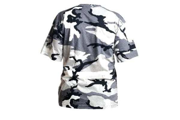 Maskáčové tričko vzor METRO URBAN kr. rukáv 160GM2 MAX FUCHS AG MFH