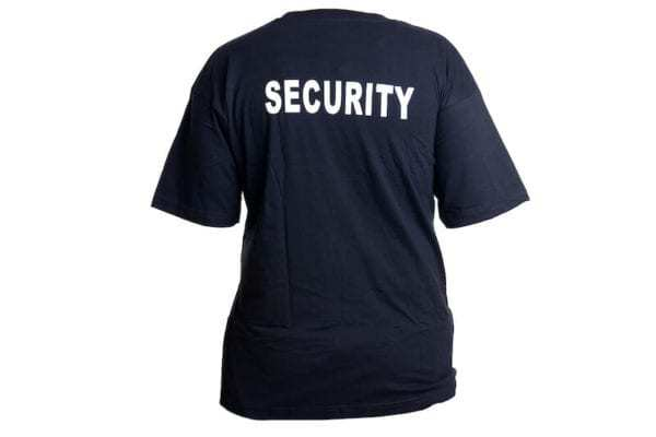 Triko Security černé kr. rukáv MAX FUCHS AG MFH