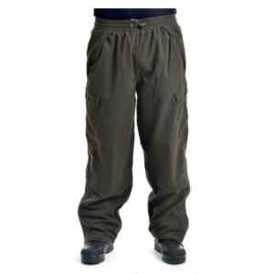 Kalhoty lovecké POLY TRICOT zelené MAX FUCHS_DSC_5452