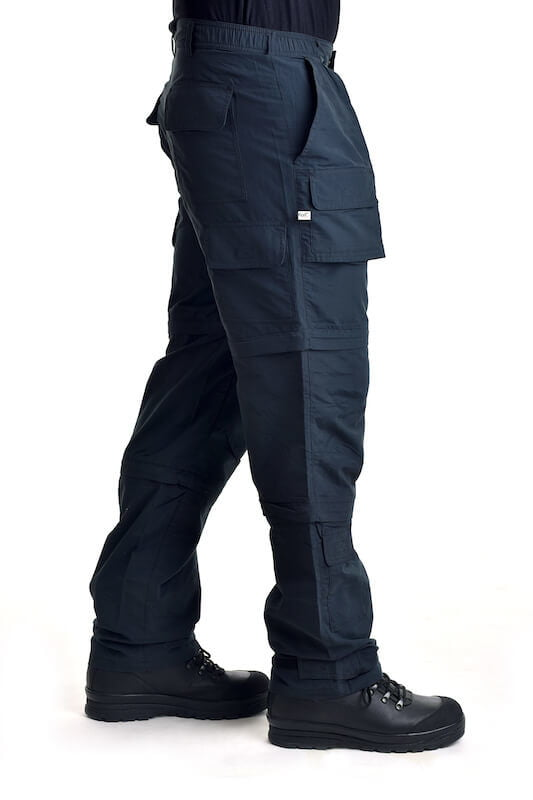 Kalhoty multifunkční odepínací z multivlákna khaki Fox Outdoor_DSC_5442